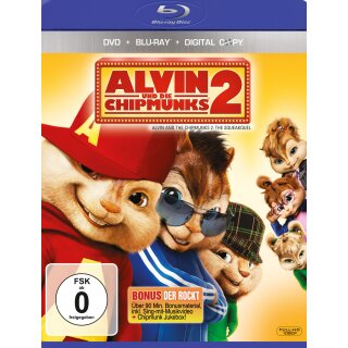 Alvin und die Chipmunks 2  (+ DVD)  (inkl. Digital Copy)