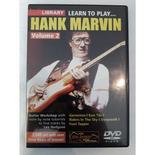 Lick Library: Learn To Play Hank Marvin Volume 2 [2 DVDs] [UK Import]