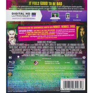 Suicide Squad (Extended Cut) [Bluray]