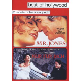 Mr. Jones/Nur für Dich - 2 Movie Collectors Pack  [2 DVDs]