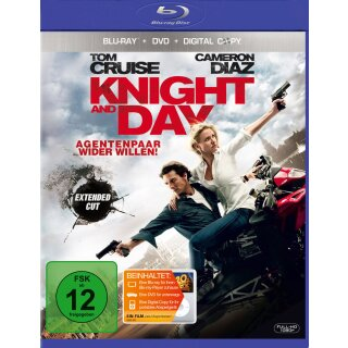 Knight and Day - Extended Cut  (+ Digital Copy Disc/inkl. Digital Copy)