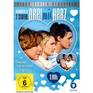 Drei mit Herz - Staffel 2  [3 DVDs]