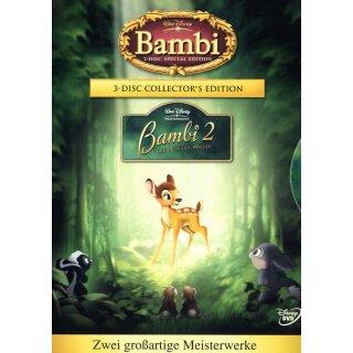 Bambi / Bambi 2  [CE] [3 DVDs]