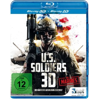 U.S. Soldiers 3D - Vol. 1 Marines IMAX  (inkl. 2D-Version)