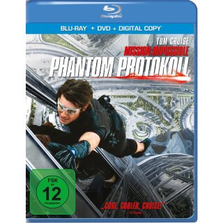 Mission: Impossible 4 - Phantom Protokoll  (+ DVD)