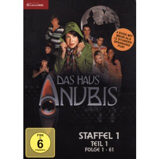 Das Haus Anubis - Staffel 1/Teil 1 - Folge 1-61  [4 DVDs]