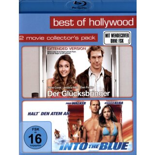 Der Glücksbringer/Into the Blue - Best of Hollywood/2 Movie Collectors Pack  [2 BRs]