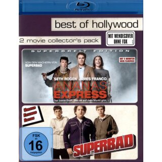 Ananas Express/Superbad - Best of Hollywood/2 Movie Collectors Pack  [2 BRs]