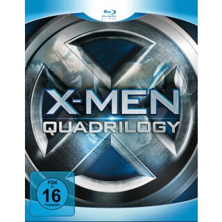X-Men - Quadrilogy  [4 BRs]