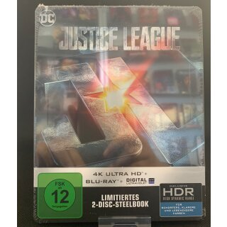 Justice League [4K Ultra HD + 2D Blu-ray]