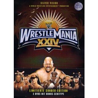 WWE - Wrestlemania 24 - Metal-Pack  [LE] [3 DVDs]