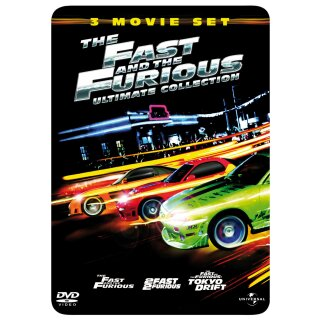 The Fast and the Furious 1-3 - Ultimate Collection/Steelbook  [3 DVDs]