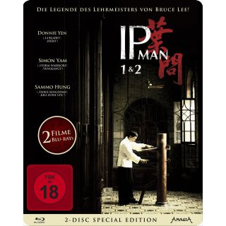 IP Man 1+2 - Steelbook  [2 BRs]