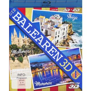 Die Balearen 3D  (inkl. 2D-Version)