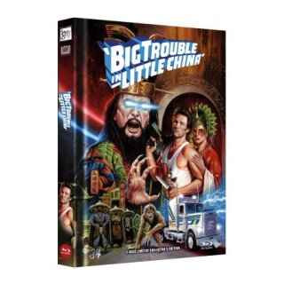 Big Trouble in Little China - 2-Disc Limited Collectors Edition Mediabook (Cover E) - limitiert auf 555 Stk