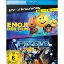 Emoji - Der Film/Pixels - Best of Hollywood  [2 BRs]