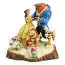 Enesco Figur Disney Tradition Tale As Old As Time, Carved...