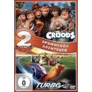 Die Croods - Turbo Box  [2 DVDs]